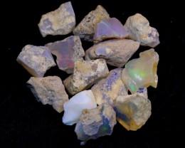 NR#  39Ct Ethiopian Welo Rough Opal Parcel