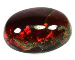 10.66 Cts Natural Multi Color Play Ethiopian Chocolate Opal NR