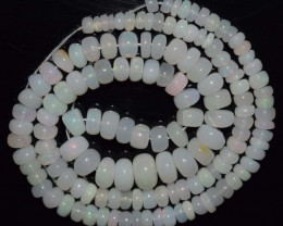 69.35 Ct Natural Ethiopian Welo Opal Beads Play Of Color