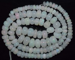 67.95 Ct Natural Ethiopian Welo Opal Beads Play Of Color