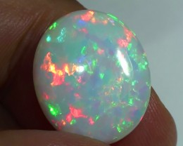 5.65 ct Gem Quality Full Gem Rainbow Welo Cab M26