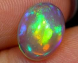 NR#  1.48Ct Aurora Sunshine Green Ethiopian Welo Opal