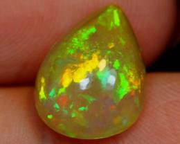 NR#  2.26Ct Green Color Play Ethiopian Welo Opal