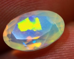NR Faceted  Ethiopian Wello Opal.  Cts.1.45  RD505