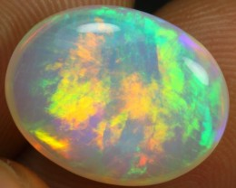 6.20cts Full Saturated Rainbow Fire Ethiopian Opal