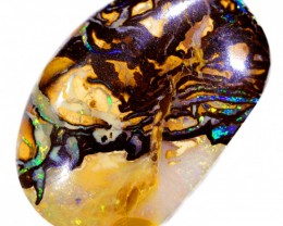 GREAT PATTERN YOWAH BOULDER OPAL STONE BB185