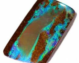14.9 CTS BOULDER PIPE OPAL STONE BB250