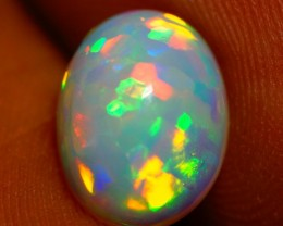 10X8 MM PLEASE SEE VIDEO !! BRIGHT ETHIOPIAN OPAL