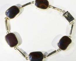 Stylish Opal  Boulder set in Silver Bracelets CF1737