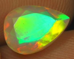 Christmas Sales 1.95cts 5/5 NEON FIRE Natural Ethiopian Welo Opal