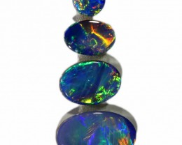 1.58 CTS OPAL DOUBLET PARCEL SET [SO9709]