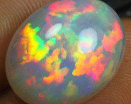 9.55cts Top Notch Fire Floral Ethiopian Opal