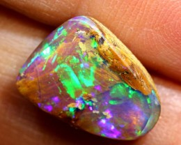 4 CTS BOULDER PIPE OPAL POLISHED CUT STONE TBO-7772