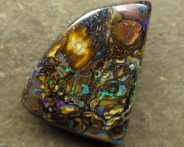 "25cts.""BOULDER MATRIX OPAL~NO MIDDLE MAN"""