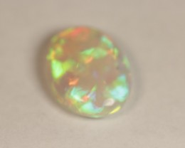 9.30ct Gem Welo opal.  Patchwork pattern