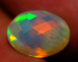 2.68 ct 12X9MM ONE OF A KIND !! FACETED ETHIOPIAN OPAL