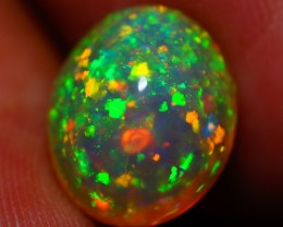 4.15 CT 12X10MM EXTREME PINFIRE !! AAA ETHIOPIAN OPAL
