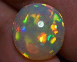 8.06 CT BROADFLASH PATTERN EXQUISITE FLASHY MULTI COLOR WELO ETHIOPIA OPAL-