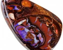 47.00 CTS WELL POLISHED BOULDER OPAL STONE [SO9804]