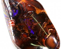 45.20 CTS WELL POLISHED BOULDER OPAL STONE [SO9820]
