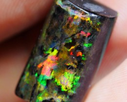 11.60CRT WOOD OPAL GORGEOUS BRIGHT FIRE COLOR INDONESIAN OPAL