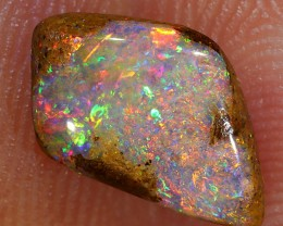 1.7ct 11x7mm Pipe Wood Fossil Boulder Opal  [LOB-1003]