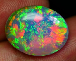 5.55 CRT AMAZING CRYSTAL CLEAR PATCHWORK MULTICOLOR WELO OPAL