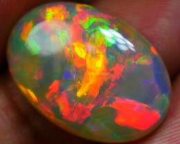 6.65 CRT SPECTACULAR DELUXE FIRE BLAZE COLOR PUZZLE PATTERN WELO OPAL