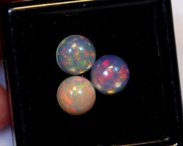 NR Auction ~ 2.62ct Round 7mm Welo Opal Parcel Lot