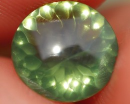 0.90 CRT VERY BEAUTY GREENISH CLEAR FACETED INDONESIAN FIRE OPAL