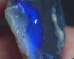 7.40CT VIEW ROUGH FOR CARVING BLACK OPAL GM328