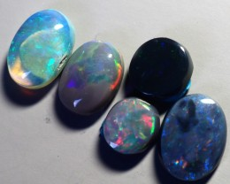 5.40CT SOLID SEMI BLACK LIGHTING RIDGE OPAL (PARCEL) GM346