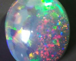 2.80CT SOLID SEMI BLACK LIGHTING RIDGE OPAL GM347