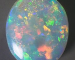 1.65CT SOLID SEMI BLACK LIGHTING RIDGE OPAL GM348