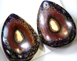 106CTS BOULDER OPAL POLISHED PAIRS NC-5097