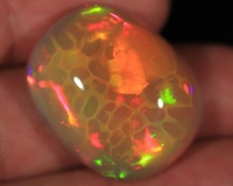 42.27CT~MAGNIFICENT 5/5 WELO OPAL CAB~SUPERB HONEYCOMB