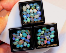 NR Auction ~  14.92ct Mix Welo Opal Parcel Lot