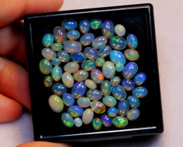 NR Auction ~  15.63ct Mix Welo Opal Parcel Lot