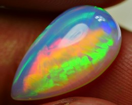 3.25 CRT GORGEOUS BROADFLASH FIRE PUZZLE PATTERN WELO OPAL