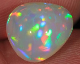 4.12CT~BRILLIANT 5/5 WELO OPAL CAB~HONEYCOMB