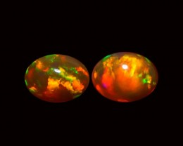 9X7 MM TOP QUALITY ETHIOPIAN CRYSTAL OPAL PAIR -AB212