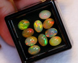 NR~ 5.16cts Oval 7x5mm Welo Opal Parcel Lot