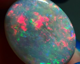 4.55CT SOLID SEMI BLACK LIGHTING RIDGE OPAL GM395