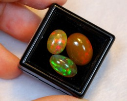 NR Auction ~ 7.73ct Oval Mix Size Welo Opal Parcel Lot