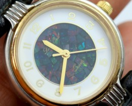 Ladies Opal watch Mosiac opal insert dial PPP1629