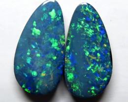 Australian Doublet Opal Pair