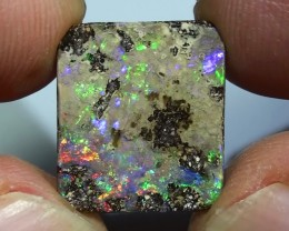 5.85 ct Boulder Opal With Beautiful Multi Color