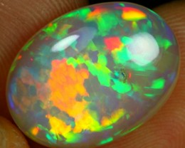 8.45cts Jigsaw Puzzle Pattern Ethiopian Opal