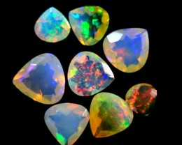 Parcel Faceted Wello Opal   Tot. Cts 3.50   RL337