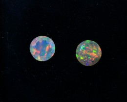 Parcel Faceted Wello Opal   Tot. Cts 0.80   RL349